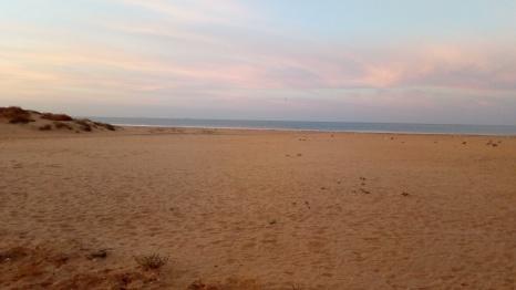 Amanece en Punta Umbría Huelva